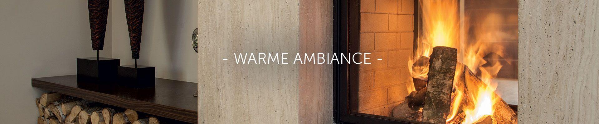 Warme ambiance