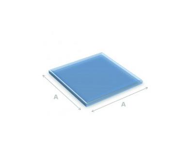 Glazen vloerplaat vierkant