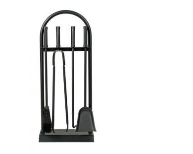 Haardstel zwart 114- 510
