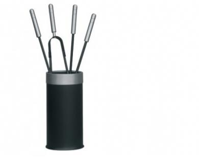 Haardstel zwart 114- 560A