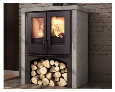 Nordic Fire - Logde met speksteen