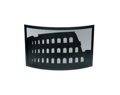 Vonkenscherm zwart 50.486 Colosseo